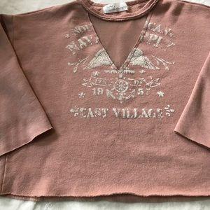 Vintage Havana deep v graphic sweatshirt